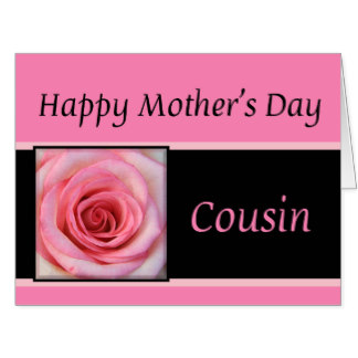 Happy Mothers Day Cards For Cousin