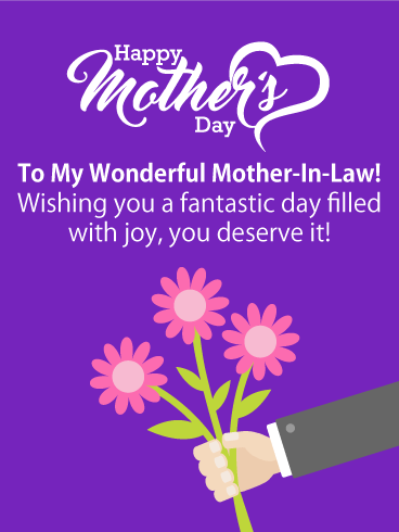 Mothers Day Messages For Mother In Law