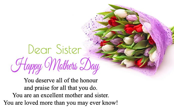 Mothers Day Wishes For Sister