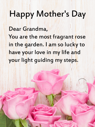 Mothers Day Wishes Messages For Grandma